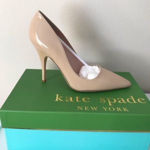 3abcc4bf6e3 Kate Spade Licorice Heels in Cream - Size 8.5 NWT